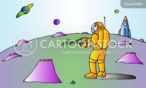 dowsing cartoon