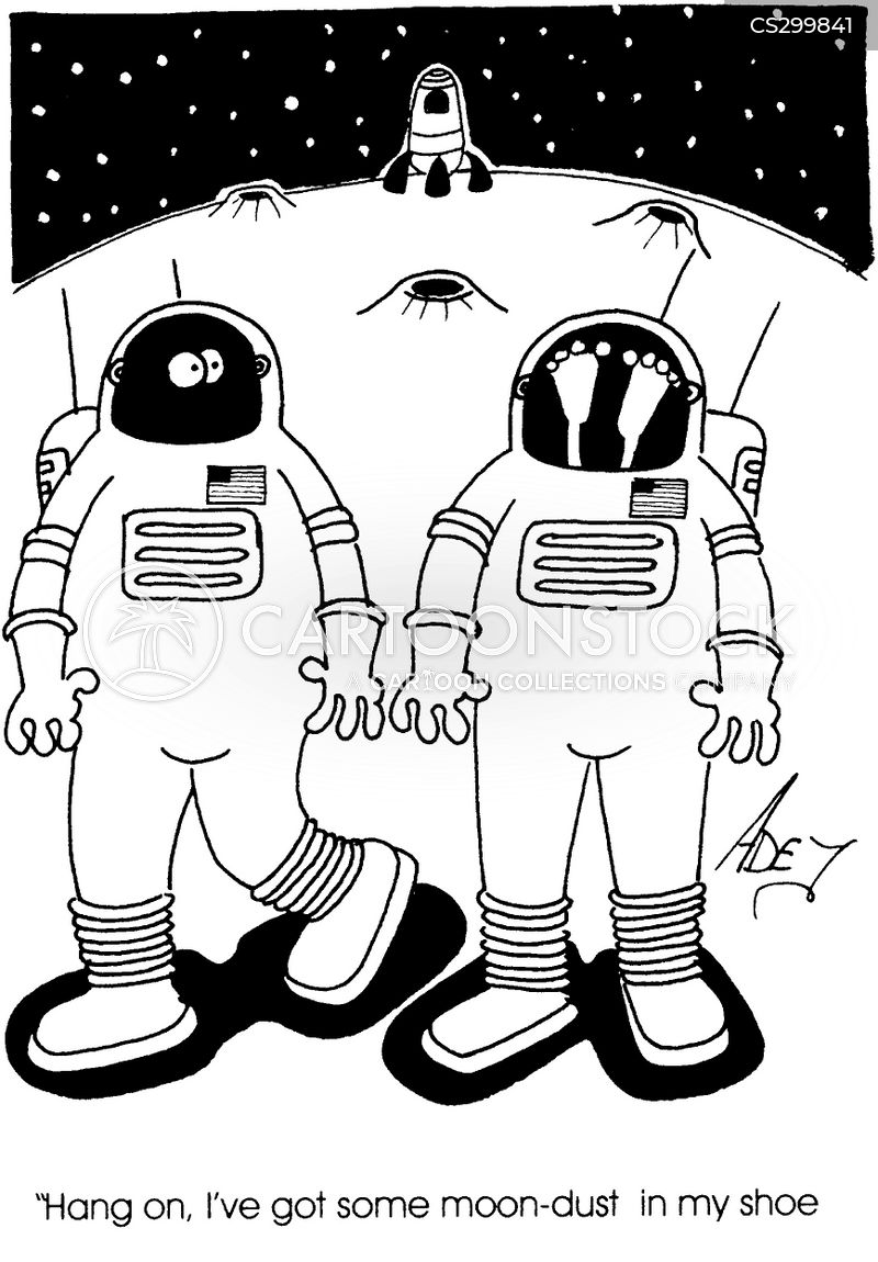 Moon Dust Cartoons And Comics