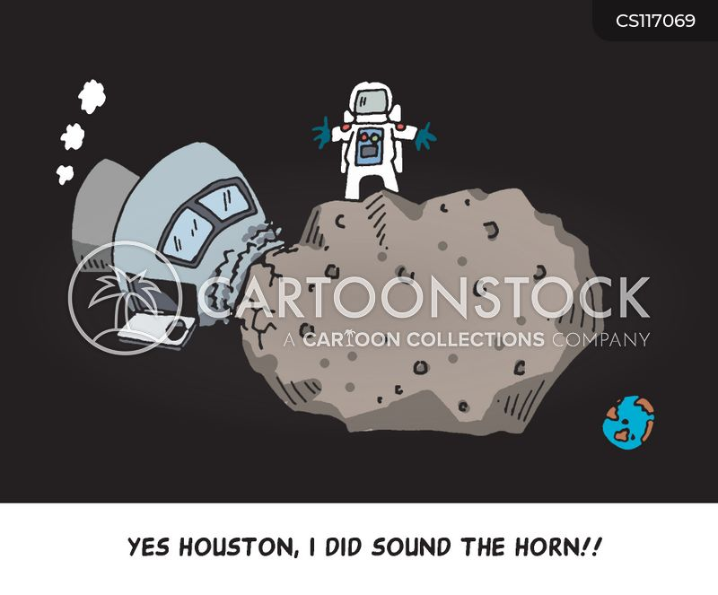 space traveling cartoon