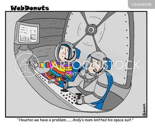 spacesuits cartoon