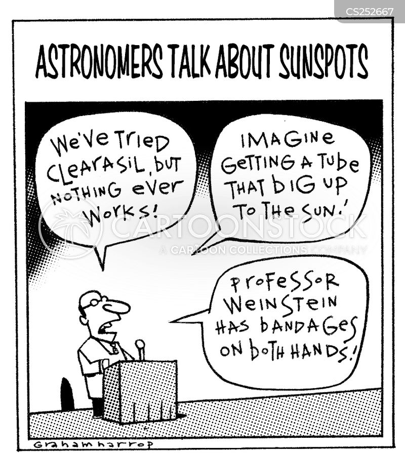 sunspots cartoon