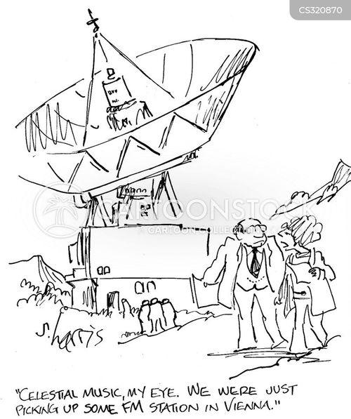 fm radio cartoon