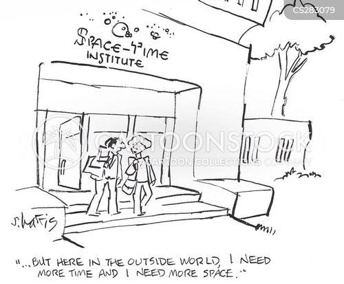 space saving cartoon