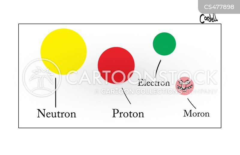 protons cartoon