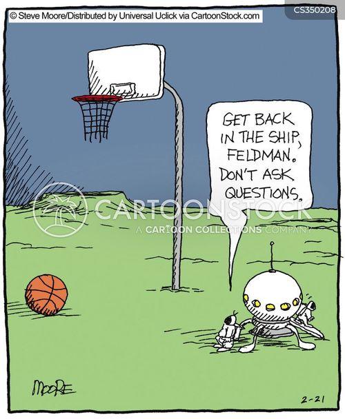 basket ball cartoon