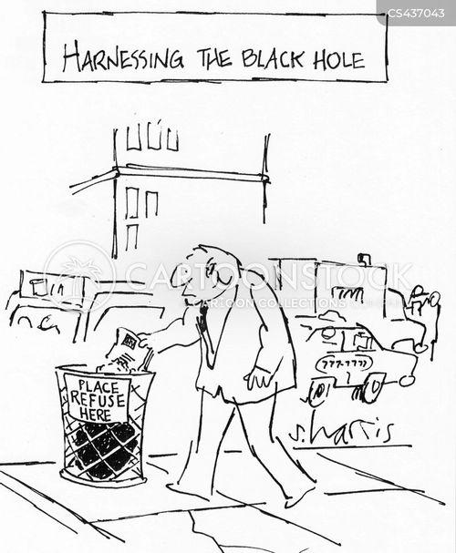 landfills cartoon