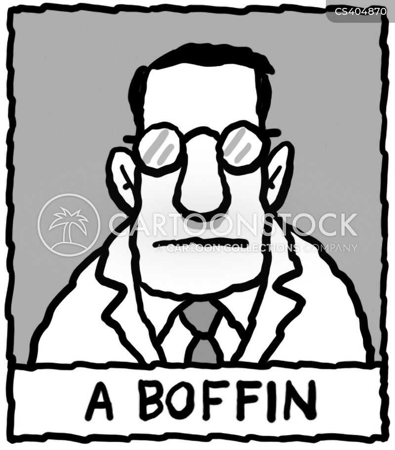 boffins cartoon