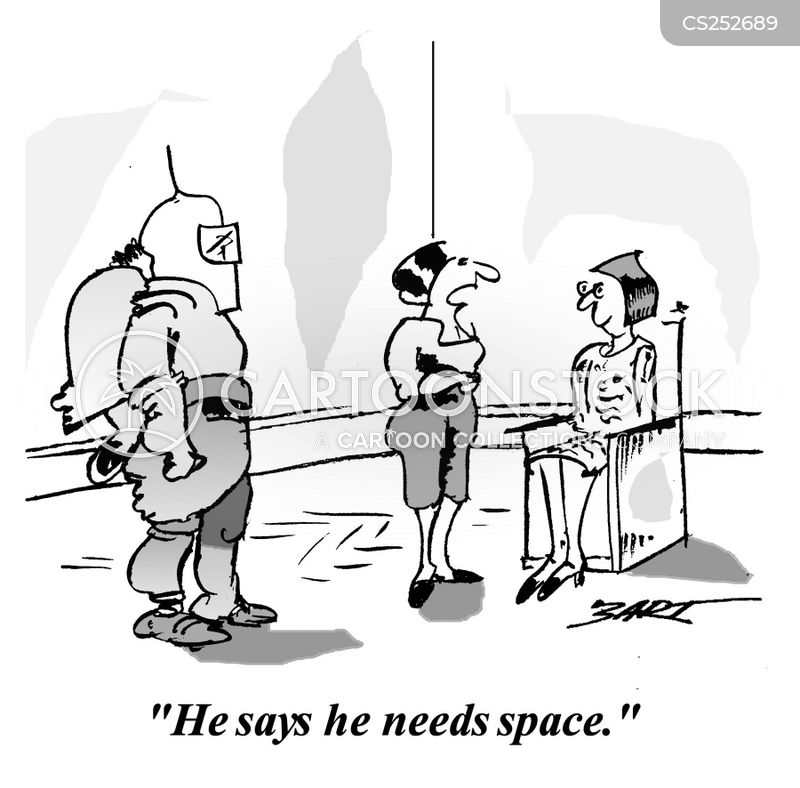 Man Needs Space Cartoons and Comics - funny pictures from