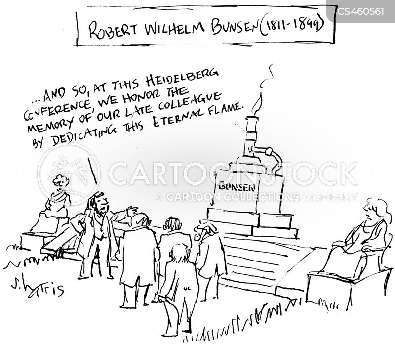 Robert Wilhelm Bunsen cartoons, Robert Wilhelm Bunsen cartoon, funny, Robert Wilhelm Bunsen picture, Robert Wilhelm Bunsen pictures, Robert Wilhelm Bunsen image, Robert Wilhelm Bunsen images, Robert Wilhelm Bunsen illustration, Robert Wilhelm Bunsen illustrations