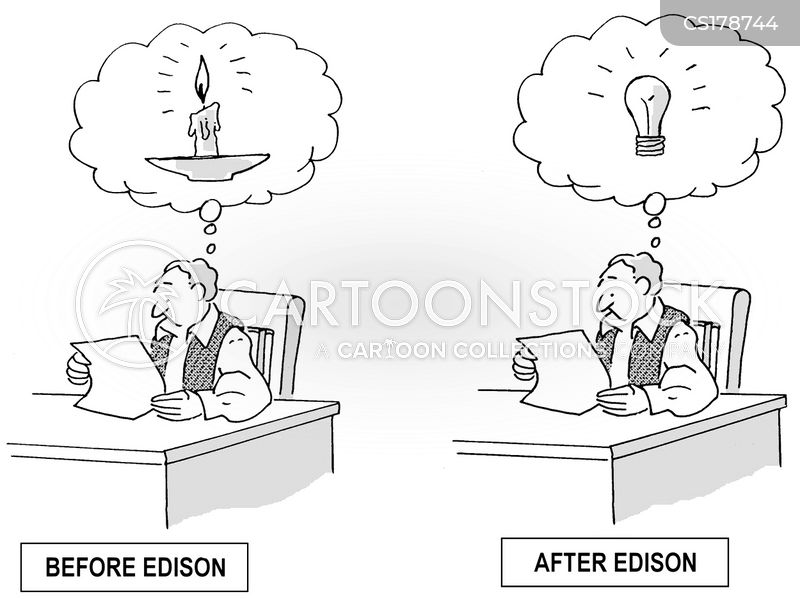 lightbulb cartoon
