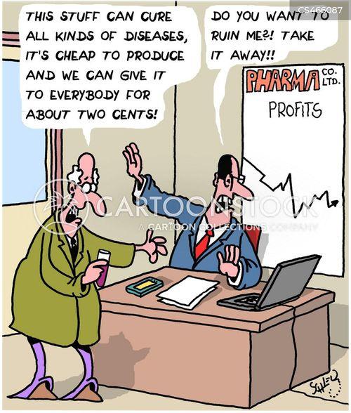 miracle cure cartoon