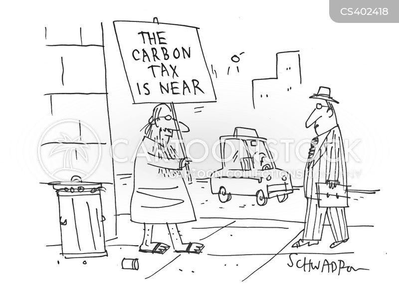 carbon taxes cartoon