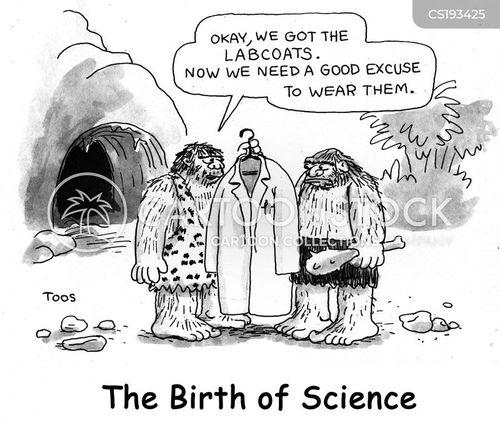 lab coats cartoon