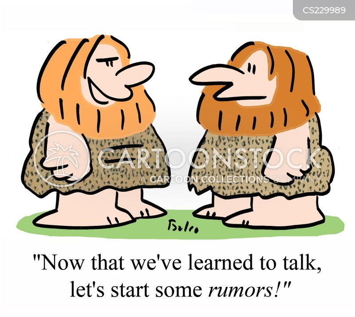 rumour mongering cartoon