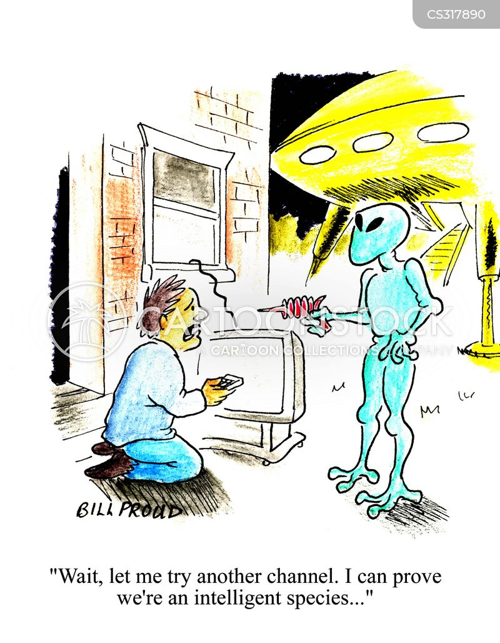 intelligent species cartoon