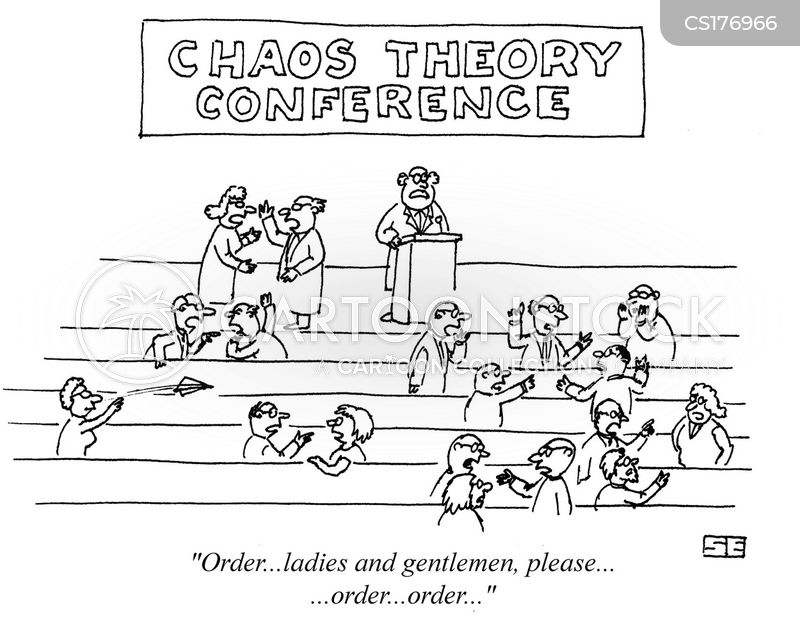 chaos theories cartoon