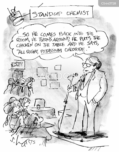 standups cartoon