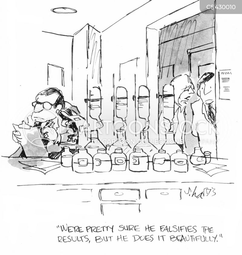 scientific results cartoon