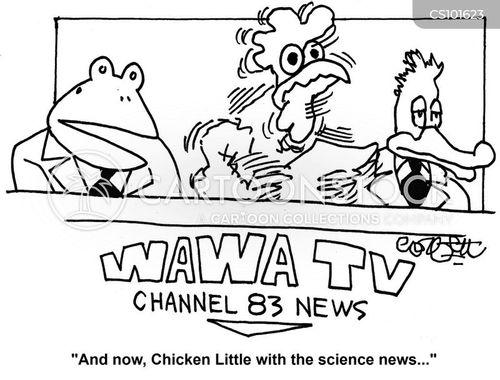panic monger cartoon