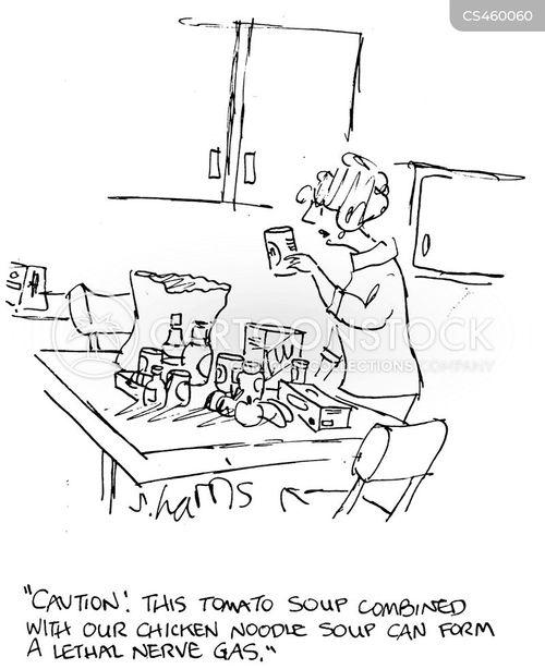 toxins cartoon