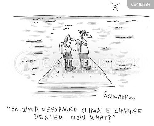 rising tides cartoon