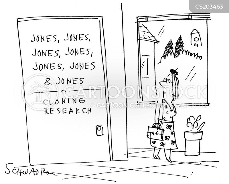 jones cartoon