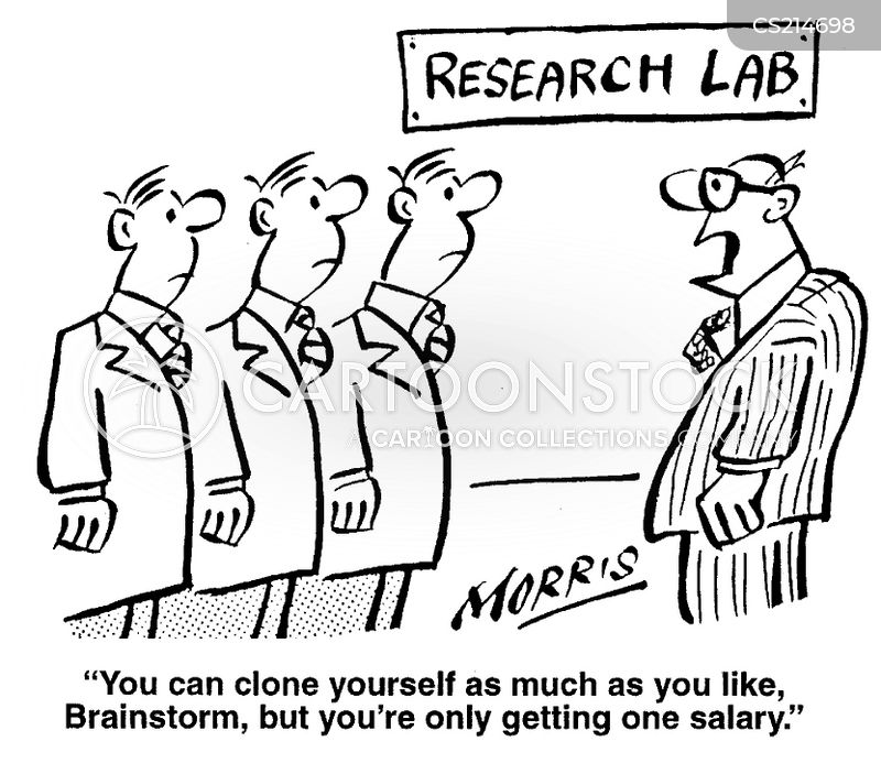 research labs cartoon