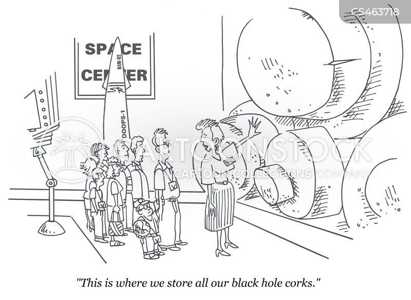 space sciences cartoon