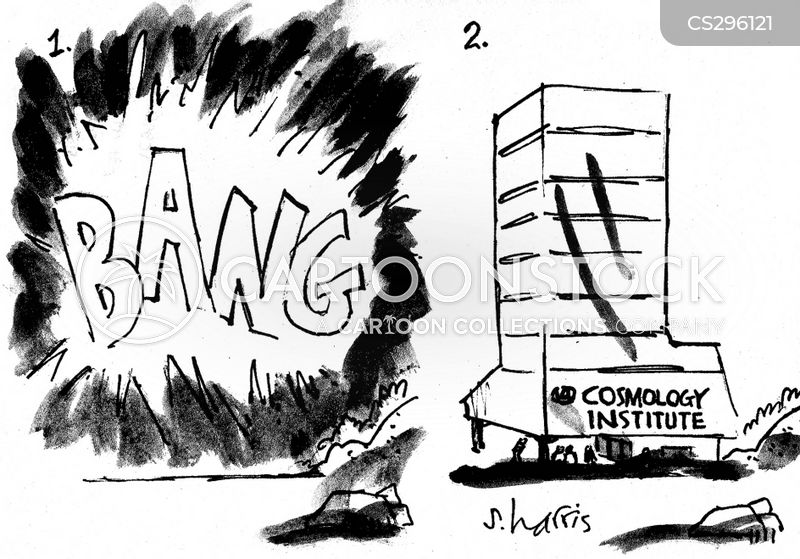 big bangs cartoon