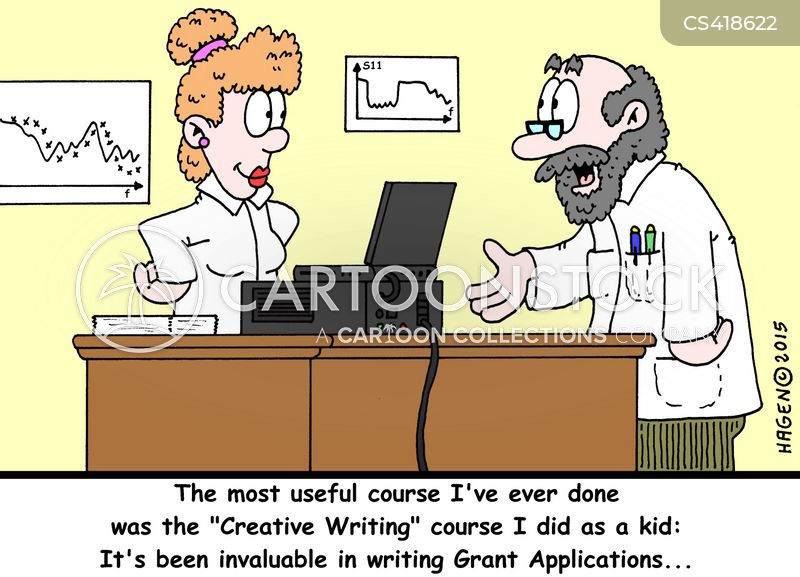 research paper cartoon
