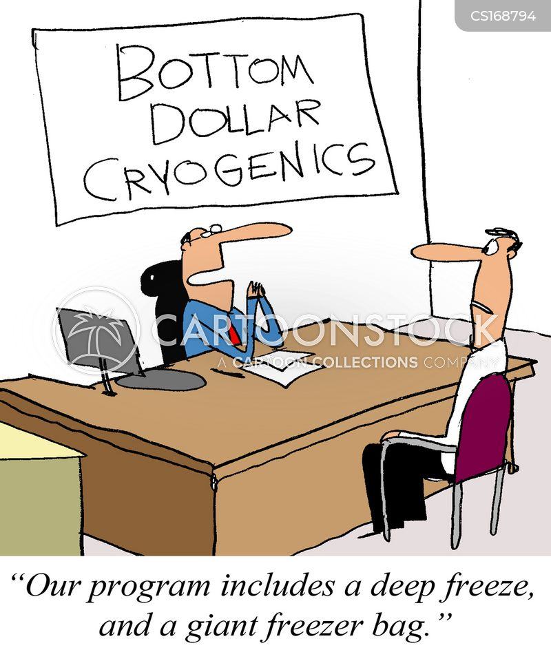 cryogenics cartoon