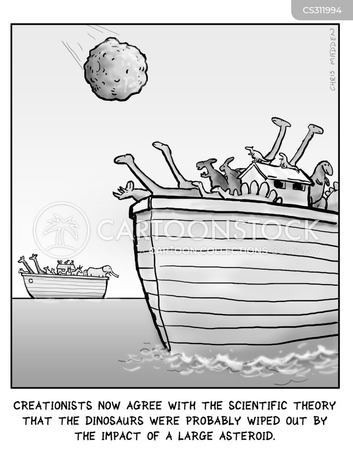mass extinction cartoon