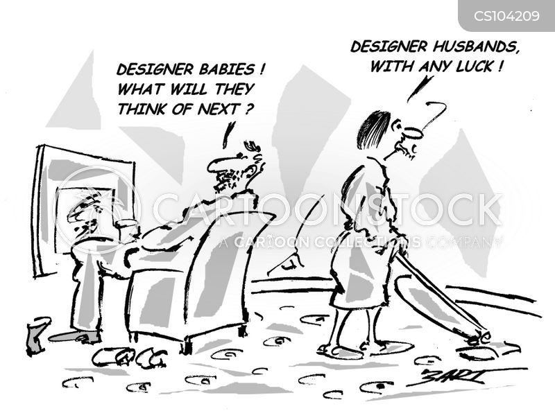 designer babies cartoon