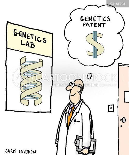 double helix cartoon