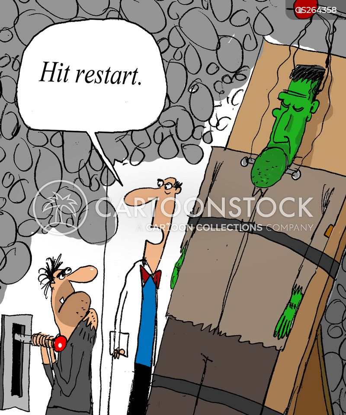 restart cartoon