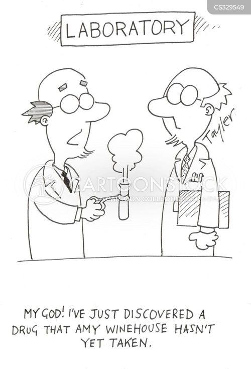 winehouse cartoon