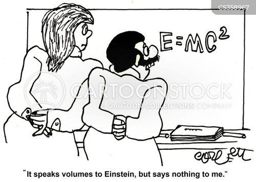 physics class cartoon