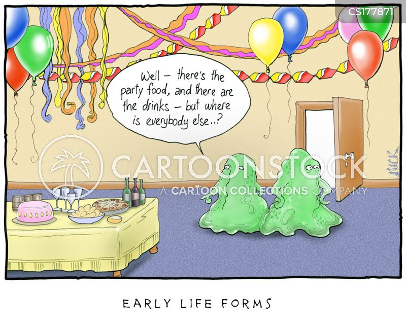 life form cartoon