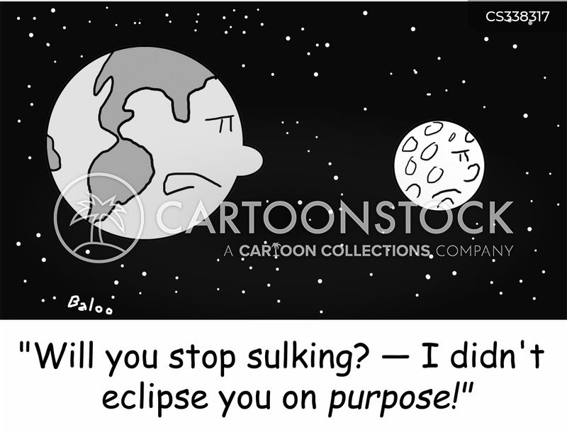 eclipse cartoon