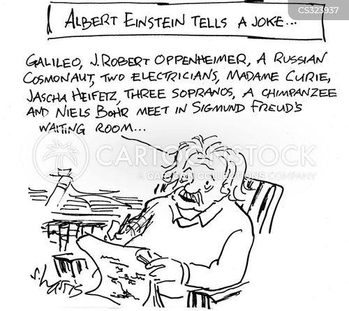 telling jokes cartoon