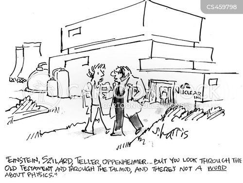 oppenheimer cartoon