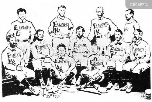 sports teams cartoon