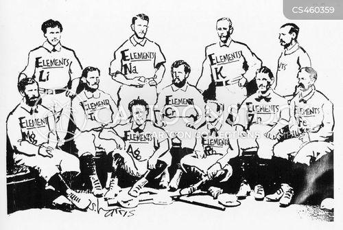 team uniforms cartoon