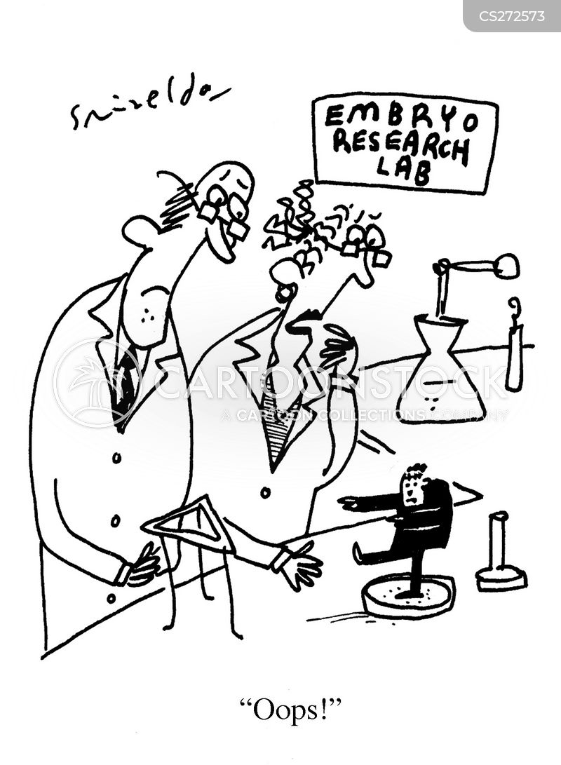 embryo research cartoon