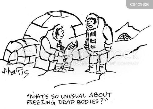 cryonics cartoon