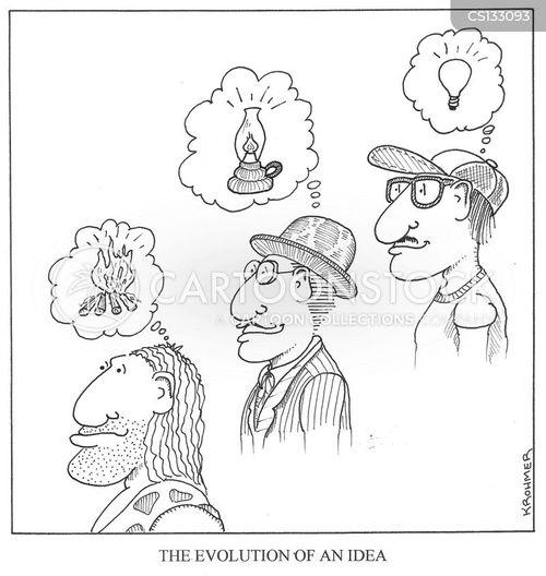 modern era cartoon