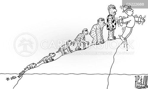 evolutionists cartoon