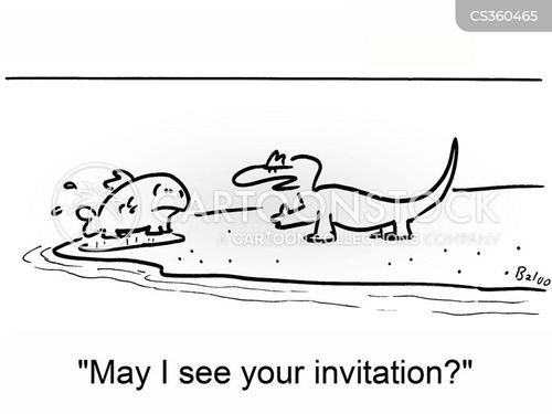 private parties cartoon