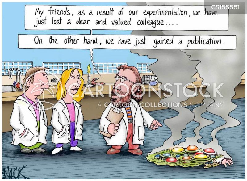publication cartoon