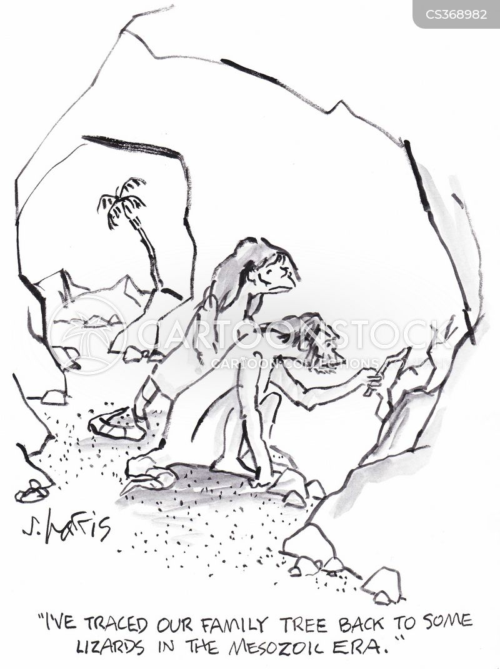mesozoic era cartoon